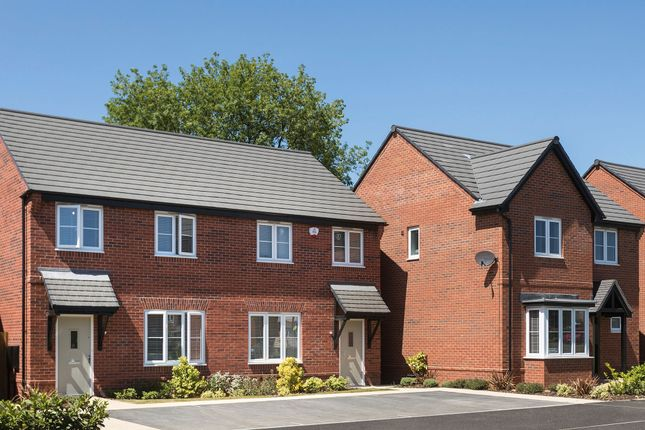 """Thumbnail Semi-detached house for sale in """"The Loddon"""" At Deardon Way, Shinfield, Reading RG2, Shinfield,"""
