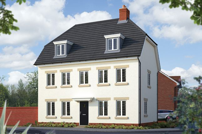 "Thumbnail Detached house for sale in ""The Warwick"" at Holden Close, Biddenham, Bedford"