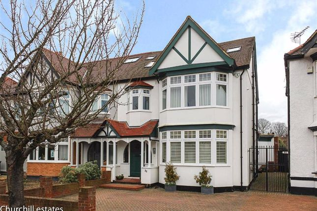 Thumbnail Semi-detached house for sale in Seagry Road, Wanstead, London
