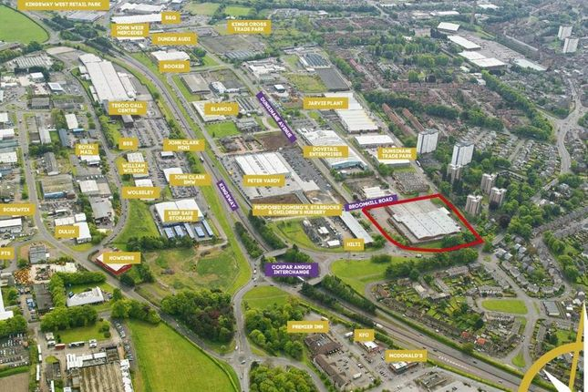 Thumbnail Land for sale in Block 31, Broomhill Road, Dundee