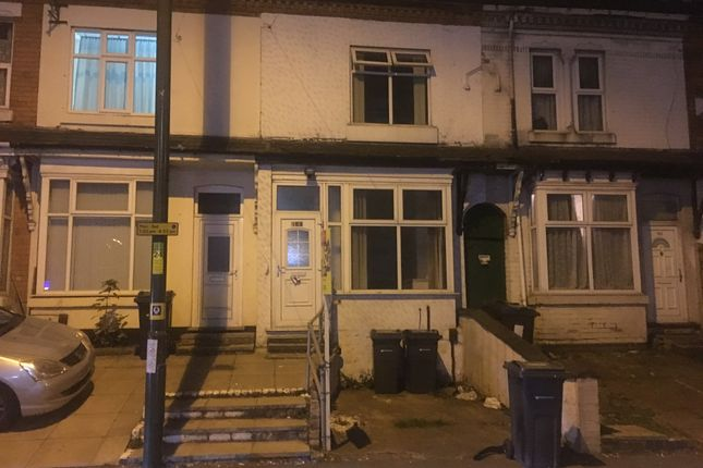 Thumbnail Terraced house to rent in Slade Road, Erdington