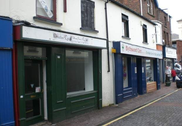 Retail premises to let in North Street, Carrickfergus, County Antrim