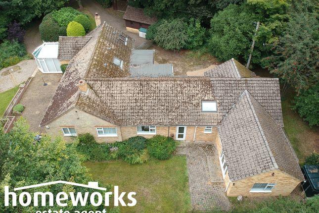 Thumbnail Detached bungalow for sale in Fakenham Road, Beetley