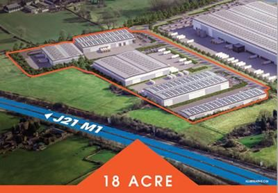 Thumbnail Land to let in Hinckley Park, Hinckley, Leicestershire