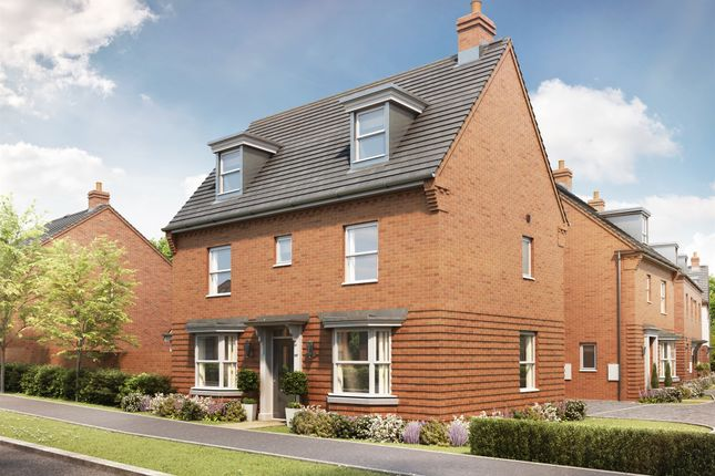 Thumbnail Detached house for sale in Kingsbrook, Broughton Crossing, Broughton, Aylesbury