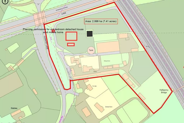 Thumbnail Land for sale in Old Chantry Lane, Stevenage