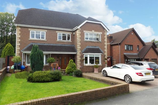 Thumbnail Detached house for sale in Clos Bryngwyn, Garden Village, Gorseinon, Swansea, West Glamorgan