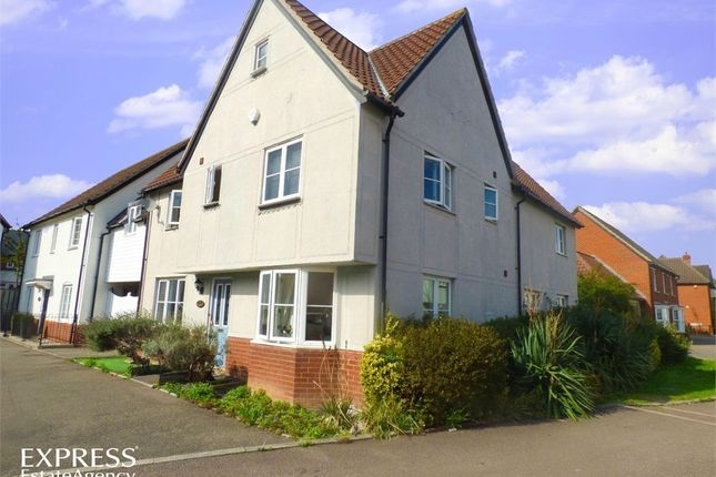 Thumbnail Semi-detached house for sale in Cowdrie Way, Springfield, Chelmsford, Essex