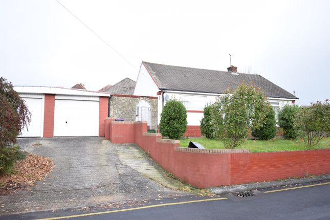Thumbnail Detached bungalow for sale in Hillcrest, New Inn, Pontypool