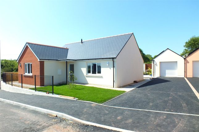 Thumbnail Detached bungalow for sale in Plot 4, Bowett Close, Hundleton, Pembroke