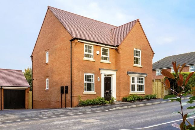 "Thumbnail Detached house for sale in ""Holden"" at Wellfield Way, Whitchurch"