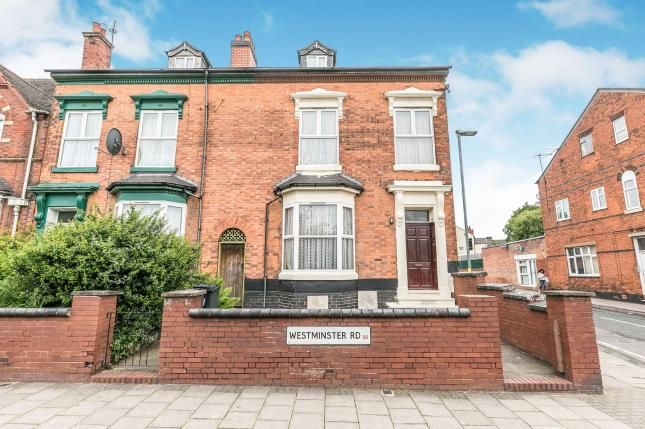 Thumbnail End terrace house for sale in Westminster Road, Birmingham, West Midlands, .