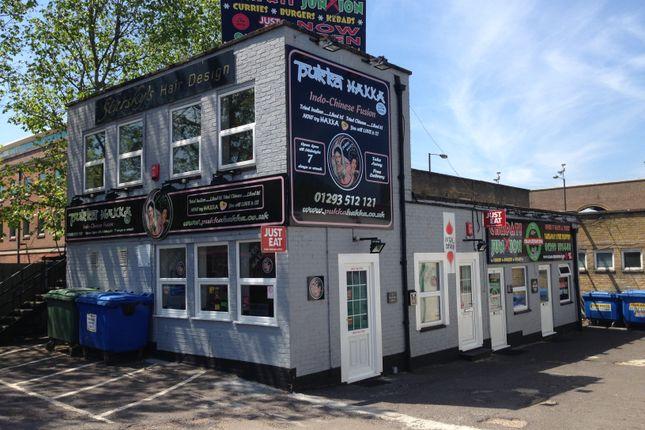 Thumbnail Retail premises for sale in Pegler Way, Crawley