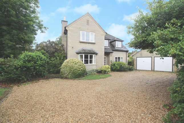 Thumbnail Detached house to rent in The Paddocks, Swayfield, Grantham