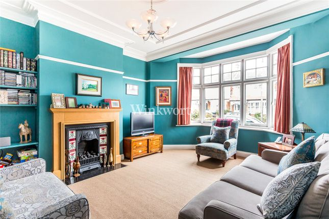 Thumbnail End terrace house for sale in Broomfield Avenue, London