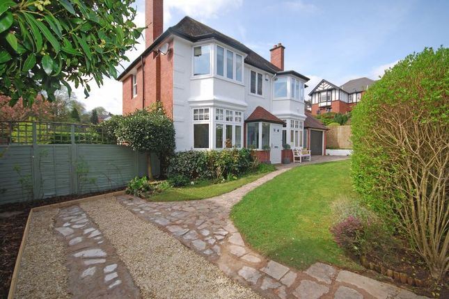 Thumbnail Detached house for sale in Stunning Period House, The Nook, Fields Park Crescent, Newport