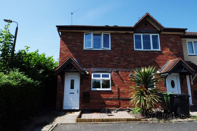 Thumbnail Terraced house to rent in Terrys Close, Redditch