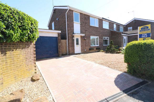 Thumbnail Semi-detached house for sale in Fairmead Crescent, Rushden