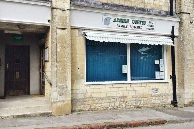 Thumbnail Retail premises for sale in Burton Street, Sturminster Newton