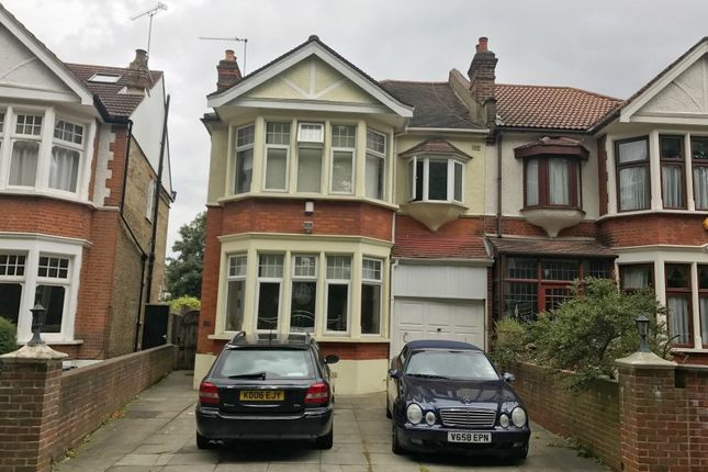 Thumbnail Semi-detached house for sale in Blake Hall Crescent, Wanstead, London