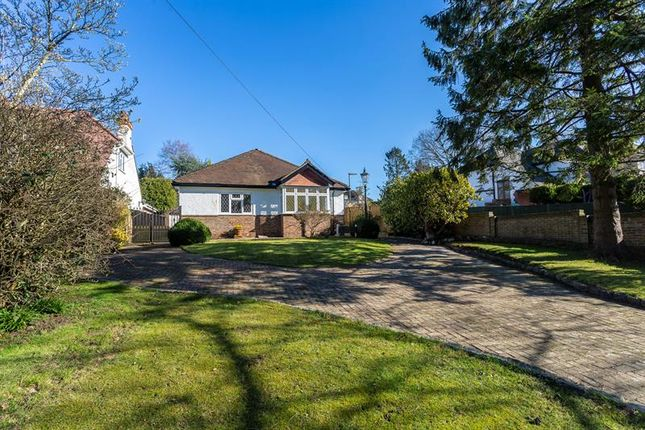 Thumbnail Detached bungalow for sale in Whyteleafe Road, Caterham