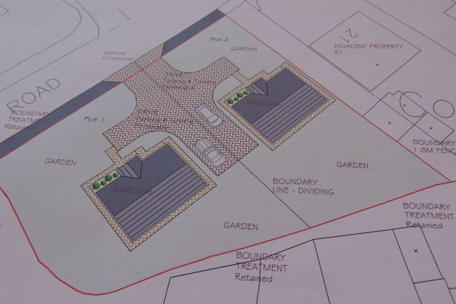 Thumbnail Land for sale in Plot 1, Coedcae, Llanelli, Carmarthenshire