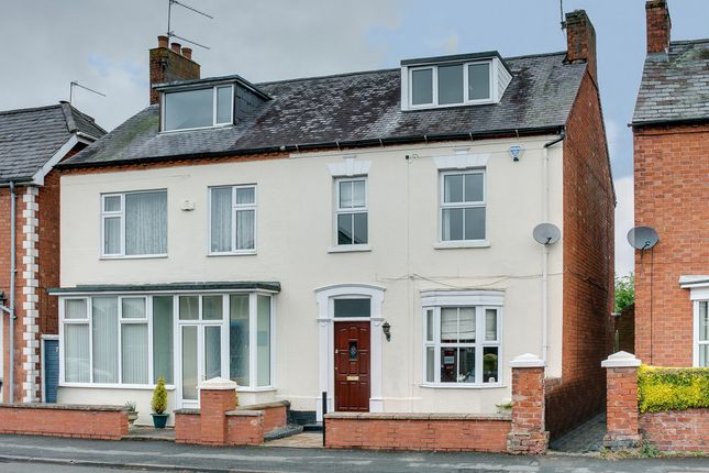 Thumbnail Semi-detached house for sale in Church Street, Studley, Warwickshire