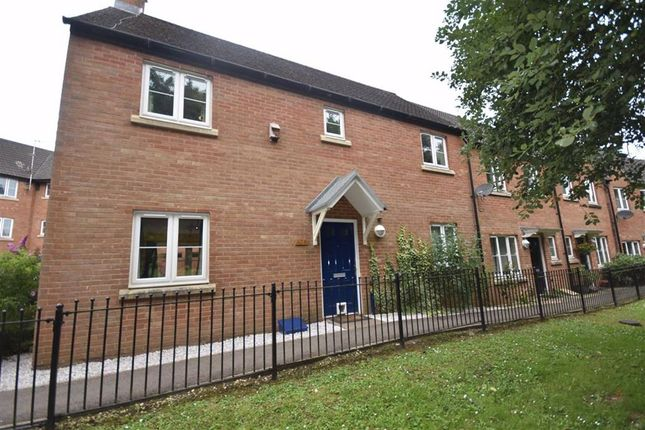 Thumbnail End terrace house for sale in The Rope Walk, Dursley