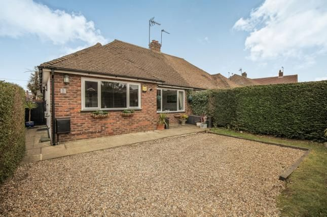 Thumbnail Bungalow for sale in Byfleet, Surrey