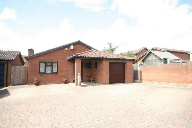 Thumbnail Detached bungalow for sale in Woodhall Close, West Hunsbury, Northampton