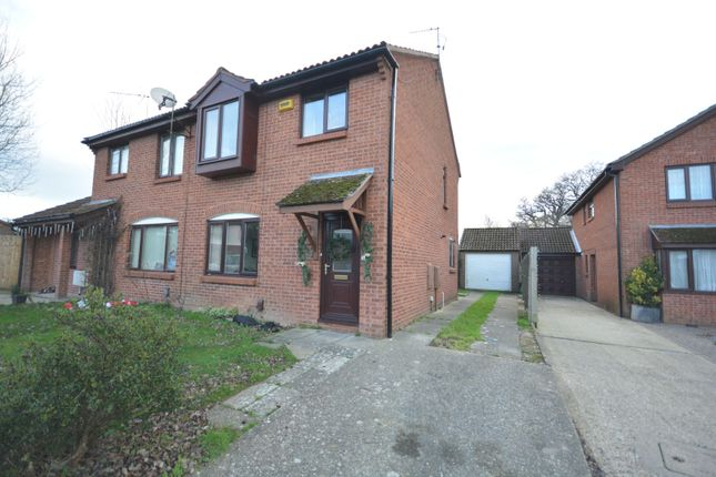 Thumbnail Semi-detached house for sale in Nuthatch Close, Creekmoor