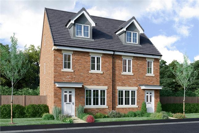 "Thumbnail Semi-detached house for sale in ""Levens"" at Bryning Lane, Warton, Preston"