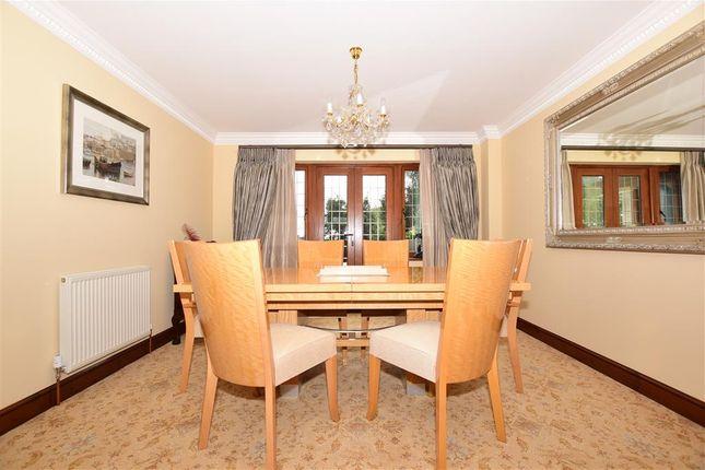 Dining Room of Chapman Fields, Cliffsend, Ramsgate, Kent CT12