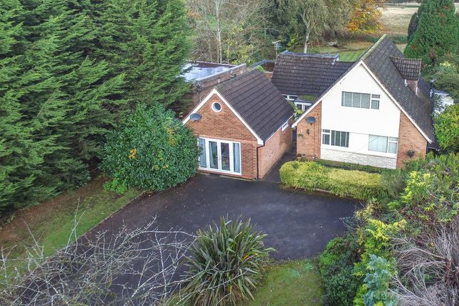 Thumbnail Detached bungalow for sale in Gentleshaw Lane, Solihull