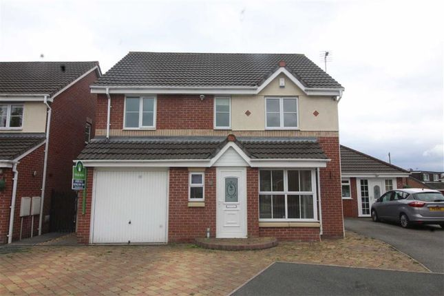 Thumbnail Detached house for sale in Harvest Way, Hindley Green, Wigan