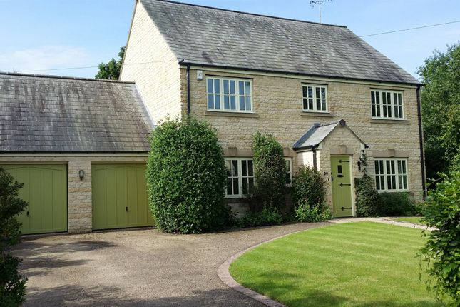 Thumbnail Detached house for sale in Big Green, Warmington, Peterborough