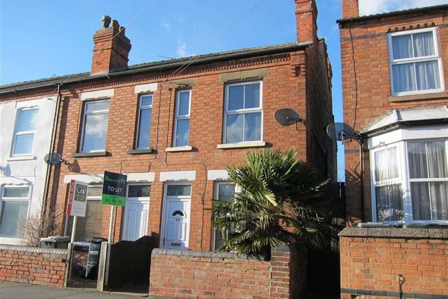 End terrace house to rent in Worrall Avenue, Arnold, Nottingham
