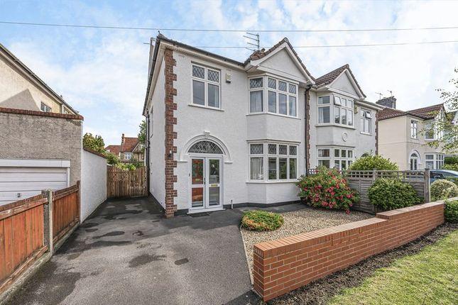 Thumbnail Semi-detached house for sale in Stoke Grove, Westbury-On-Trym, Bristol