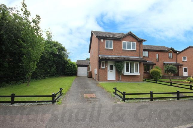 Thumbnail Detached house for sale in Windermere Drive, Wellingborough, Northamptonshire.