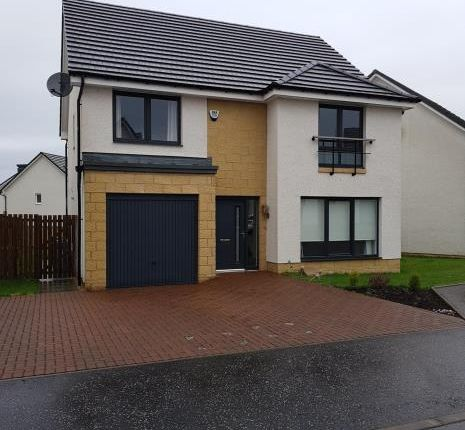 Thumbnail Detached house to rent in Cypress Road, Carfin, Motherwell