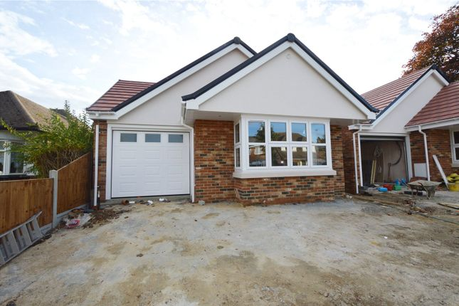 Thumbnail Detached bungalow for sale in Warwick Road, Rayleigh, Essex