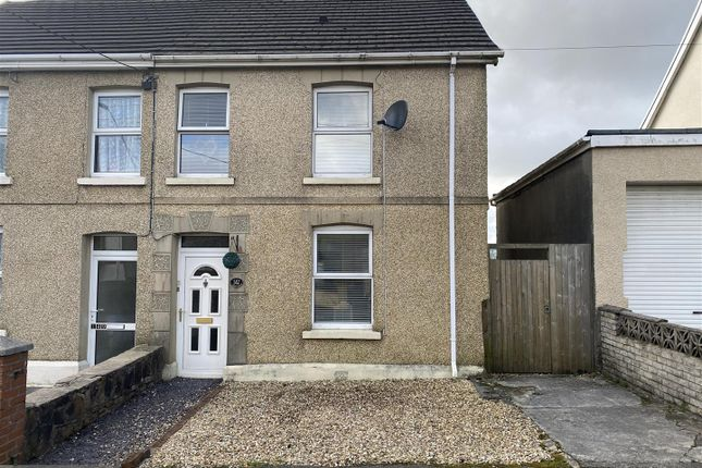 Thumbnail Semi-detached house for sale in Waterloo Road, Penygroes, Llanelli