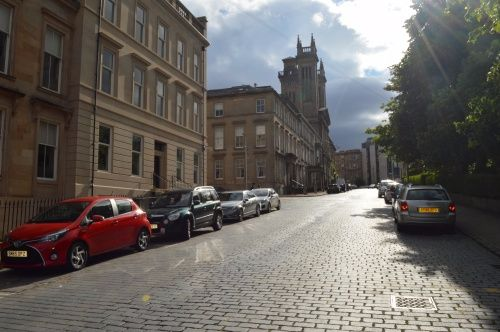 Thumbnail Flat to rent in 10 Lynedoch Terrace, Park District, Glasgow