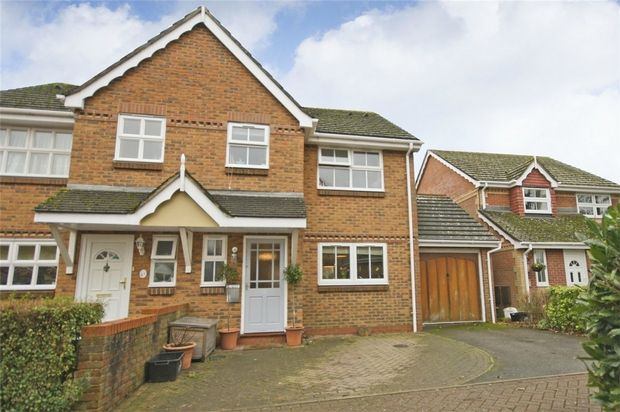 Thumbnail Semi-detached house for sale in Lin Brook Drive, Ringwood, Hampshire
