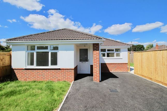 Thumbnail Detached bungalow for sale in Markham Close, Bournemouth