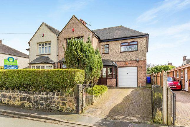 Thumbnail Semi-detached house for sale in Woodland Grove, Burslem, Stoke-On-Trent