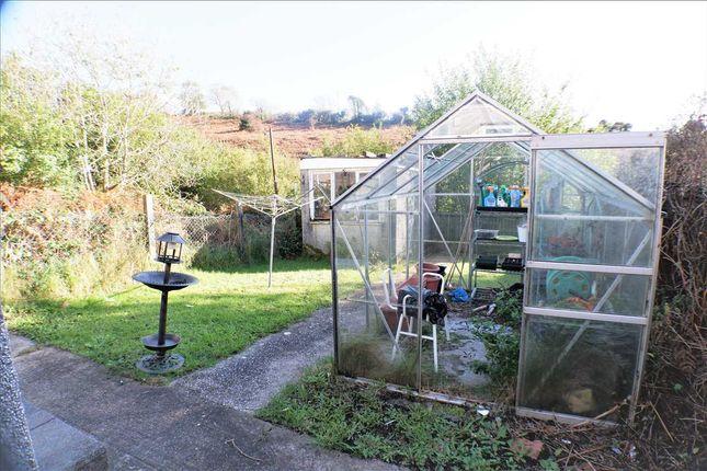 Rear Garden of Thomas Street, Gilfach Goch, Porth CF39
