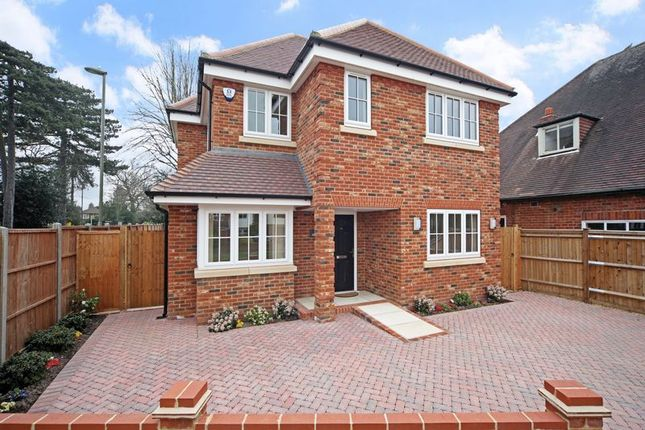 Thumbnail Detached house to rent in Willow Walk, Englefield Green, Surrey