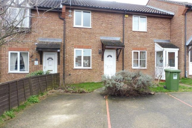 Thumbnail Terraced house to rent in Benets View, North Walsham