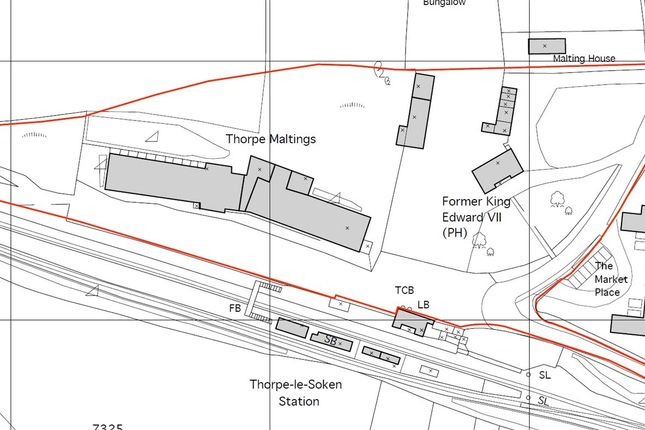 Thumbnail Land for sale in Maltings Road, Thorpe-Le-Soken, Clacton-On-Sea, Essex